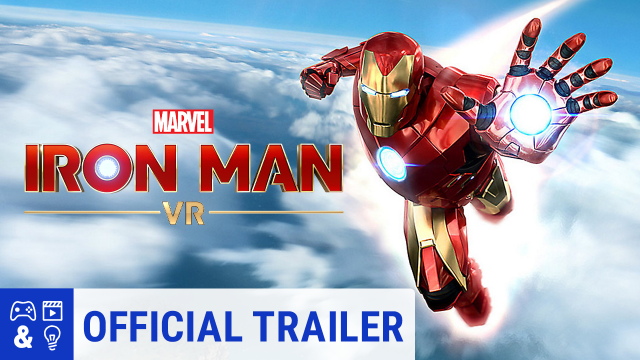 Marvel's Iron Man VR PS4 VR Gameplay Trailer