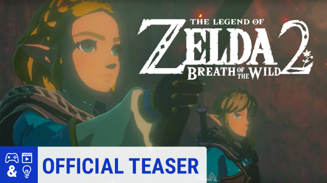 The Legend Of Zelda Breath Of The Wild Sequel Reveal Trailer E3 2019