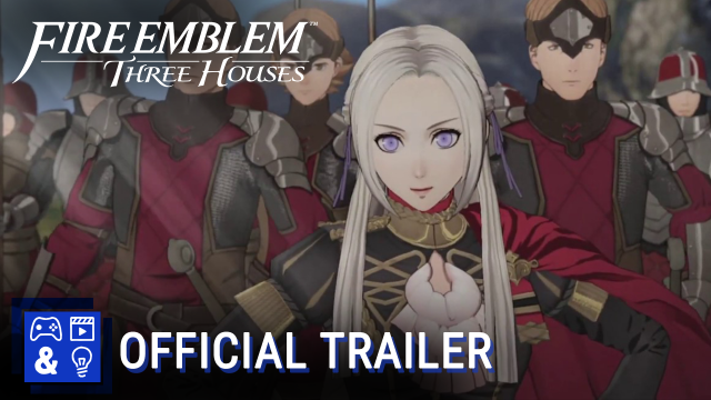 Fire Emblem: Three Houses - Officers Academy trailer (Nintendo Switch)