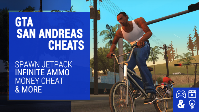 GTA San Andreas Cheats - Money Cheat, Chaos Mode, Maximum Muscle - Xbox,  PS2, PS3 and PC