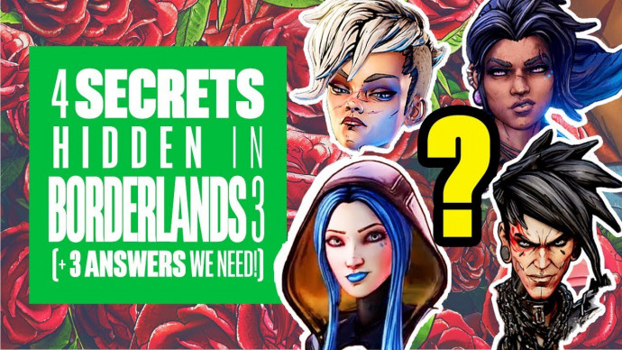 4 Secrets Hidden in Borderlands 3 (And 3 Answers We Need!) - Borderlands 3  trailer questions