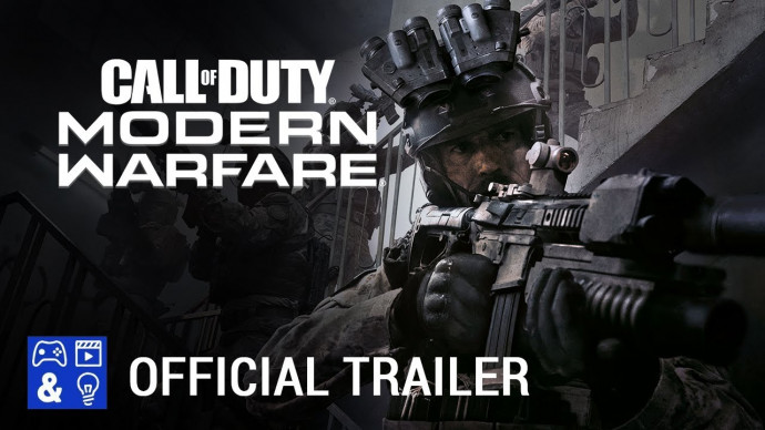 Call of Duty: Modern Warfare Multiplayer Gameplay Trailer (Nightvision)