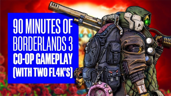 90 Minutes of Borderlands 3 Co-Op Gameplay - Borderlands 3 Flak Co-Op  Gameplay