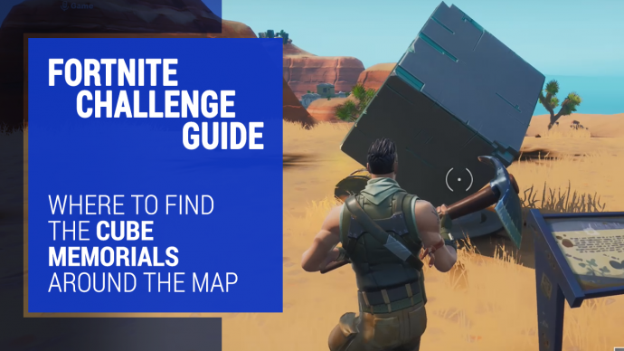 Fortnite Cube Memorial Locations Guide Where To Find The Cube Memorials Around The Map