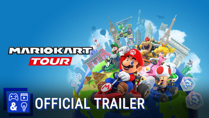 Mario Kart Tour Mobile Gameplay Trailer