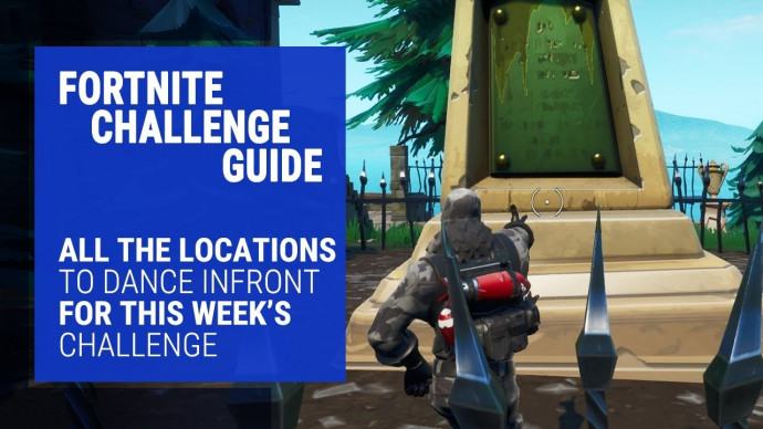 Fortnite Dancing Challenge Guide - Where to find the Bat Statue, Floating  Pool and Giant Chair