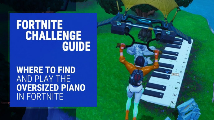 Fortnite Oversized Piano Challenge Guide Where To Find And Play The Piano