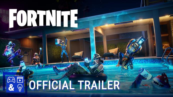 Fortnite - Moisty Palms Rift Zone trailer