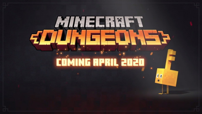 Minecraft Dungeons X019 Release Date Announce Trailer